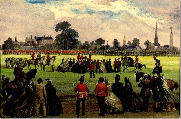 se corner, Coll.-Spa. parade grounds, 1863. Tor Ref.