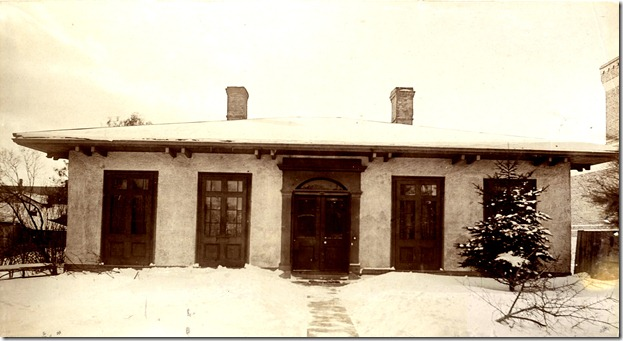 W. side-Spa, north of Glen Baille PLace c.1885