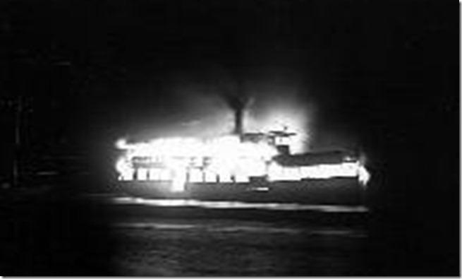 thumbnailImage[1] Burning of S.S. John Hanlan, 1929