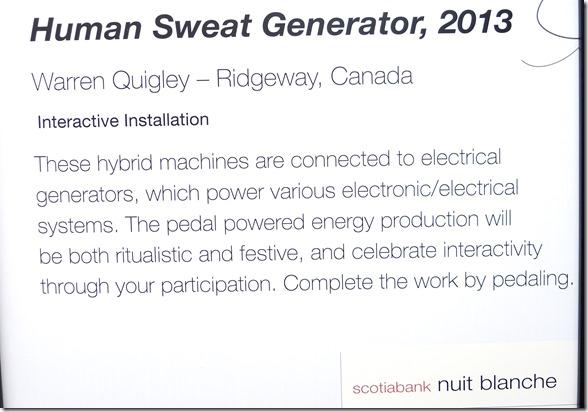156. Human Sweat Generator