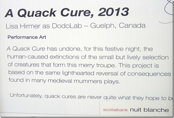 164. A Quack Cure