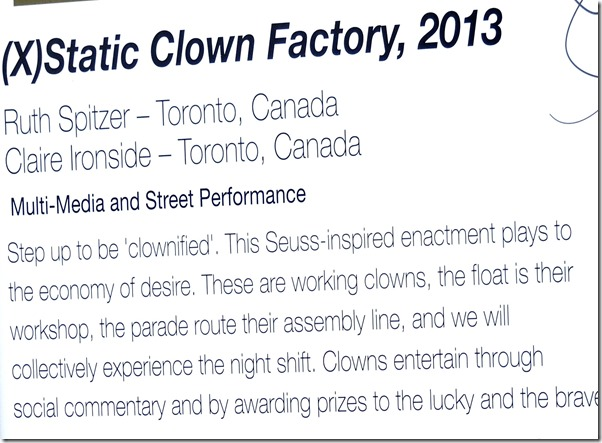 91, Static Clown Factory