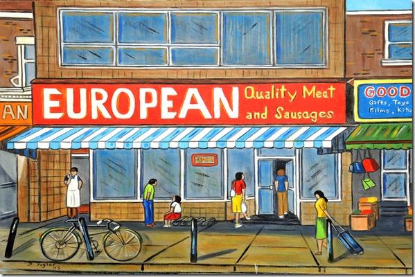 138.  20x24  2005  Europen Meats, Baldwin St.