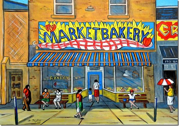 139.  20x24  2005  Mt Market Bakery, original location, Baldwin St.