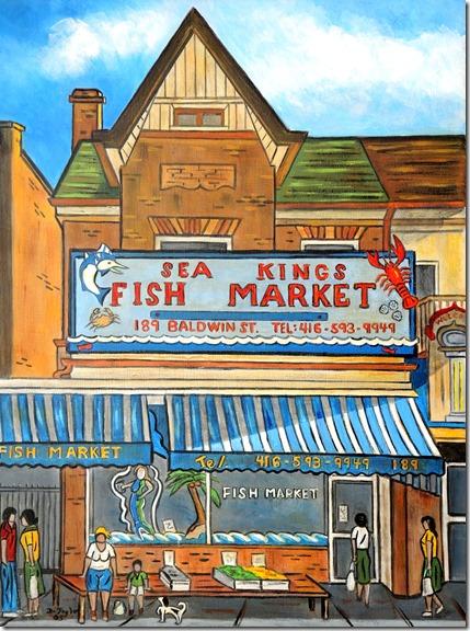 143.  20x24  2005  Sea Kings, Balwin St.
