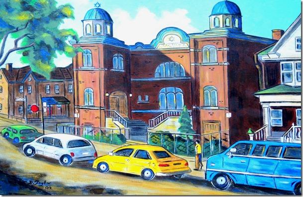 146.  18x24  2005 Kiever Synagogue, Ken. Market