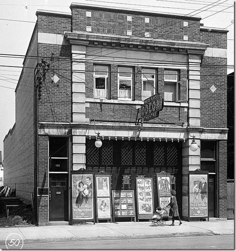 Odeon Theatre, 1913, at 1558 Queen West
