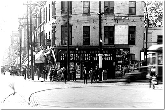 Pickford, Spadina and Queen 1916, dmol. 1972