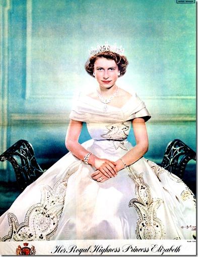 1 a . Sept. 21, 1951,  Karsh portrait
