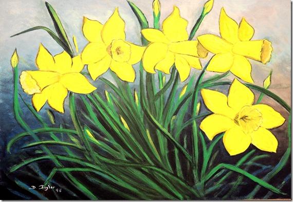12.  16x20  1998  St. James gardens