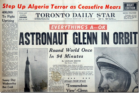29.  Feb 20, 1962