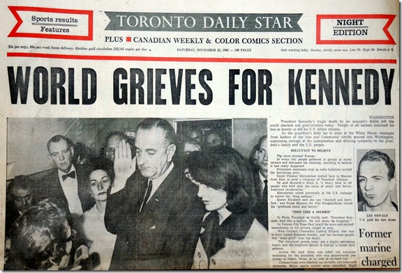 31.  Nov. 23, 1963    8