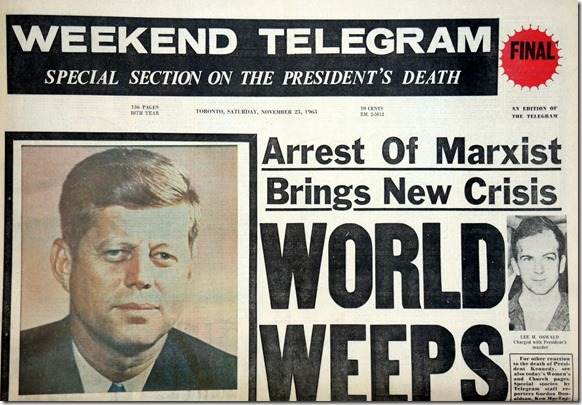 32.  Nov. 23, 1963