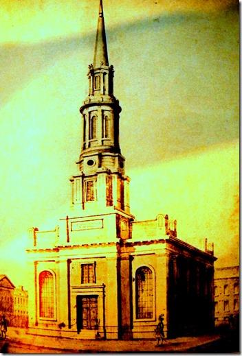 1830 church- Church and Adelaide