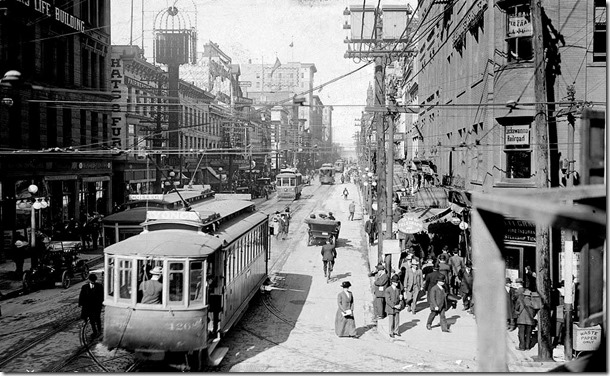 Yonge, north from King 1911