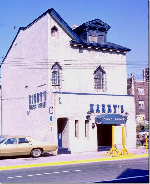 View of Harry's Steak House on Church Street at Maitland Street – June 15, 1971