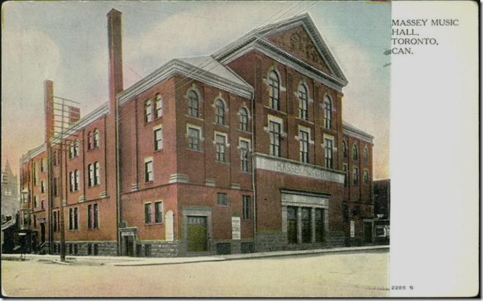 Massey Hall  1910, TRL. pcr-2207[1]