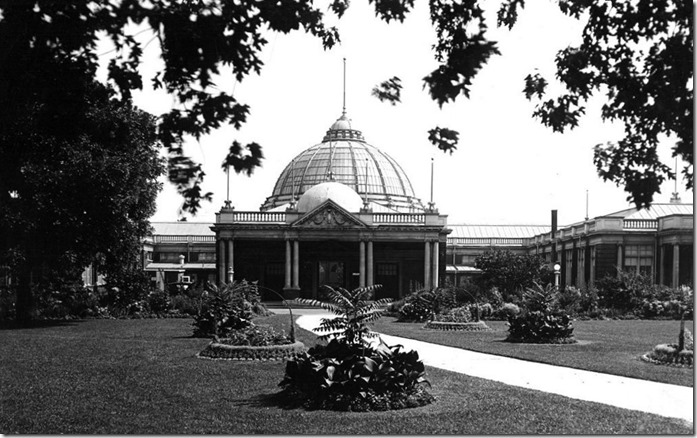 Horticultural building, Exhibition, (Commercial Department) – August 2, 1928
