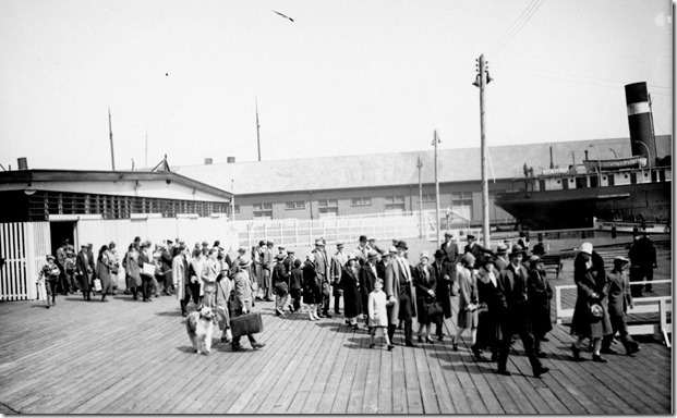 Ferry Service, (Commercial Department) – April 6, 1928