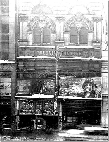 Colonial_Theatre,_south_side_of_Queen_Street,_east_from_Bay_Street,_constructed_from_fragments_of_old_Customs_House[1]