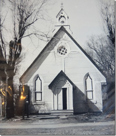 St. Andrew's on old site, Mrs. Butler's Coll, S 872, File 20