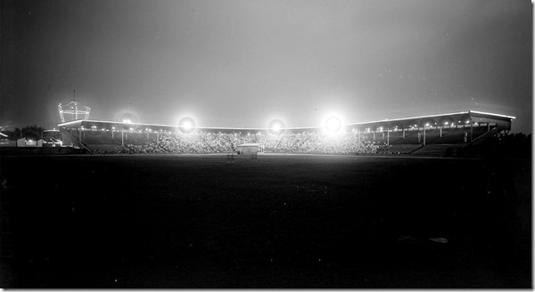 Stadium, illuminated, Hanlan's Point, (Commercial Department) – August 16, 1928