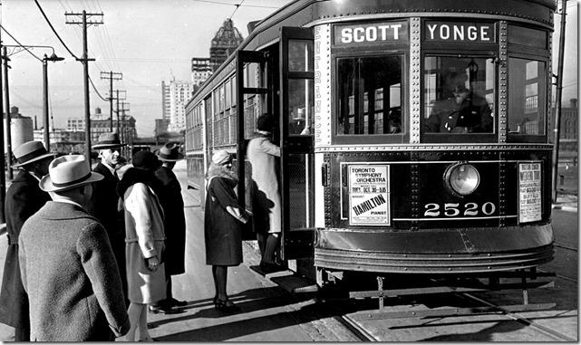 Witt car, (Commercial Department) – October 30, 1928