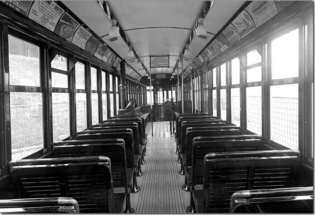 Witt car #2536, looking to the head end, (Executive Department) – January 6, 1932