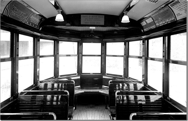 Witt car #2536 , rear end, (Executive Department) – January 6, 1932