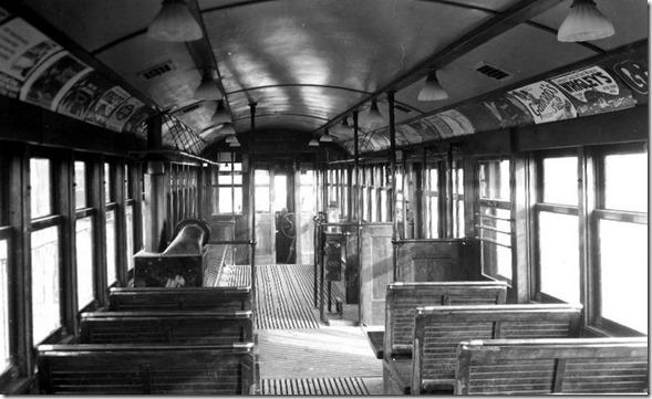Brill motor, (interior), #2590 – March 2, 1923
