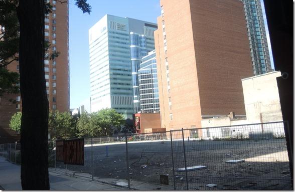 empty lot, Sept. 19, 2016