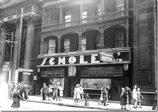 scholes hotel c. 1945, Fonds 1257, S1057, Item 537  [1]