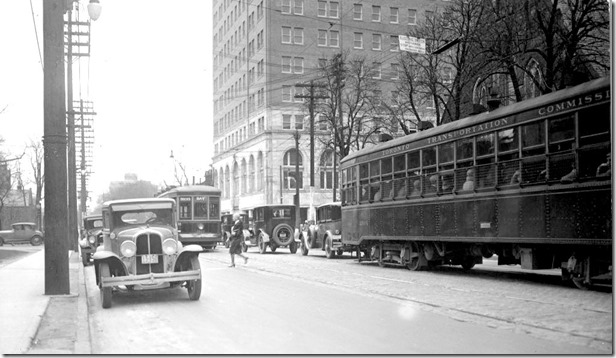 Bloor St, looking west, to Avenue Road, 2:12 p.m., (Way Department) – April 27, 1929