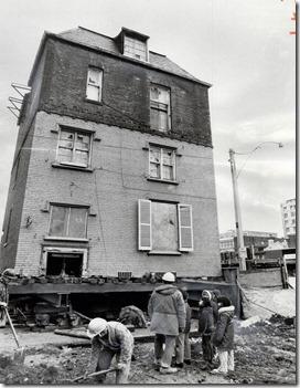 tspa_0109997 relocating Scadding House, 1974  [1]