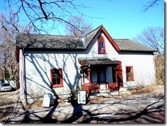 barn, then coach house, gardiner's cottage 1909