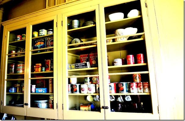 cupboard in kitchen