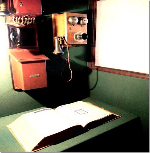 telephone cupboard