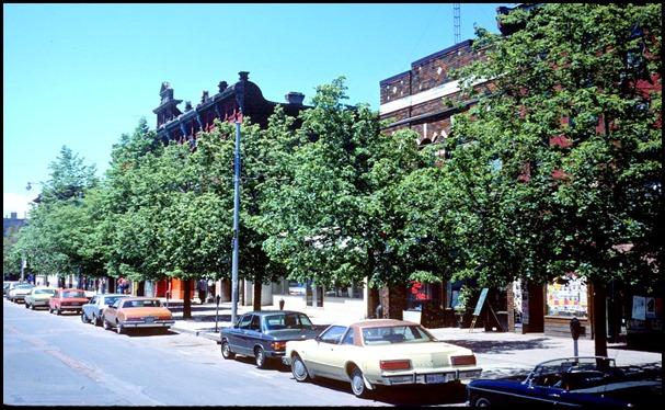 View of Queen Street West at Soho Street – June 7, 1981