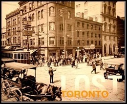 Book cover of Doug Taylor's Lost Toronto